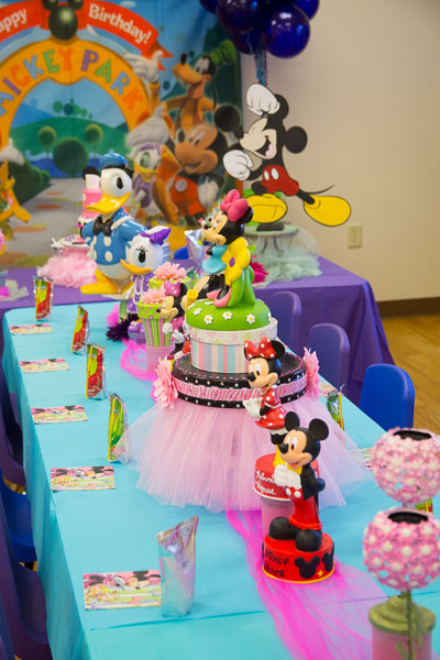 Mickey Minnie Theme Party