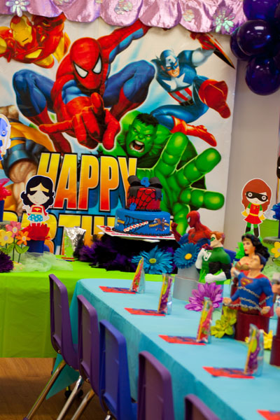 Superhero Party Theme